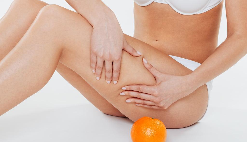 Cellulite shockwave treatment.
