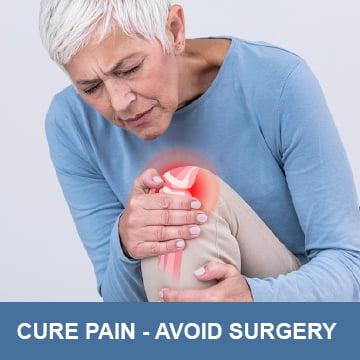 Cure Pain Avoid Surgery Shockwave
