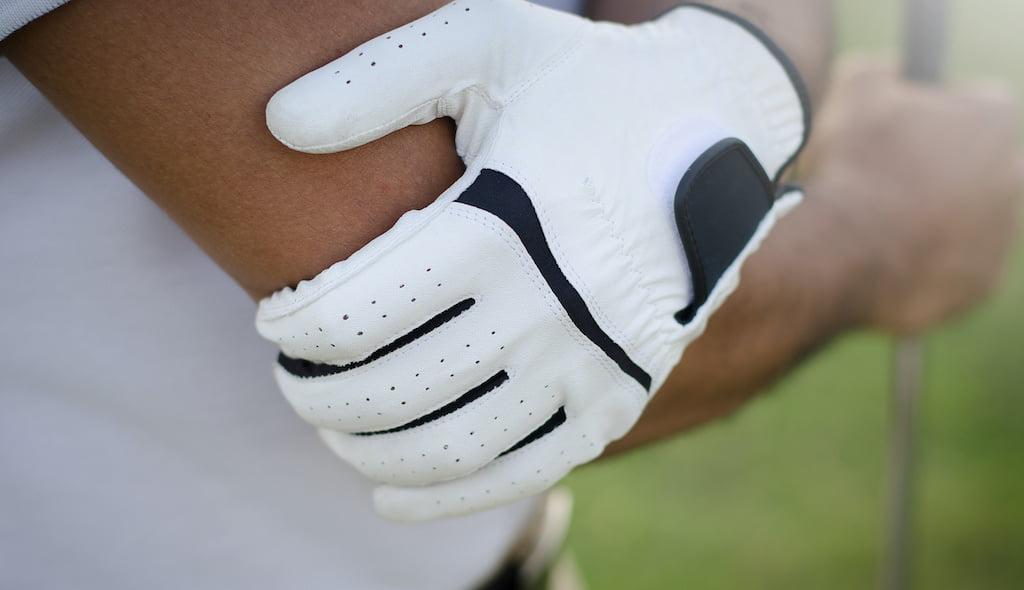 Golfer's elbow shockwave treatment.