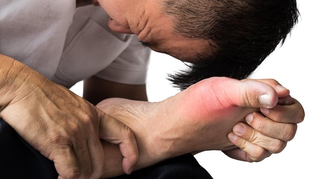 Gout shockwave treatment.